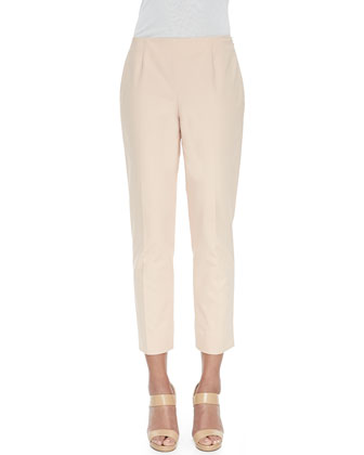 Cropped Fundamental Bi-Stretch Pants