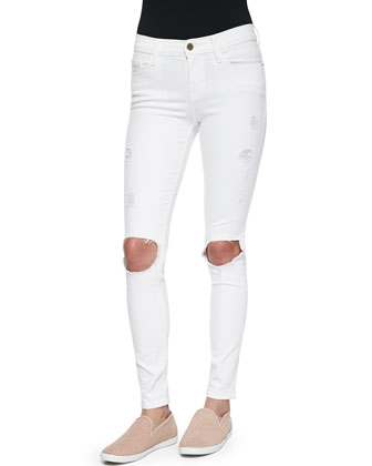 Le Color Destroy Skinny-Fit Jeans