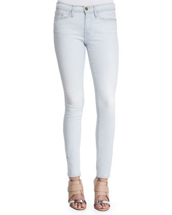 Queue De Pie Silk Shirt & Le Skinny De Jeanne Stretch Jeans ...