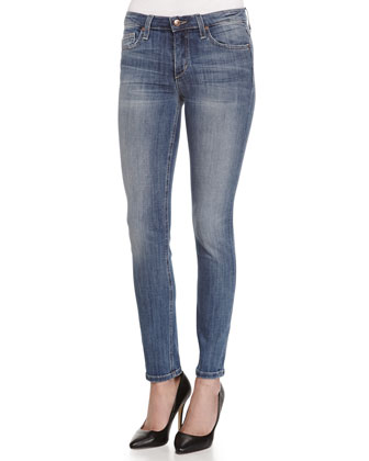 Lyndi Mid-Rise Ankle Skinny Jeans