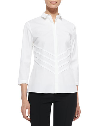 Charmaine 3/4-Sleeve Blouse