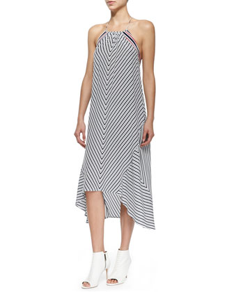 Tilde Striped Maxi Dress