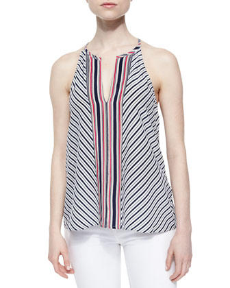 Mahaut Sleeveless Striped Tank Top