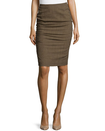 Rendel Pencil Skirt, Camel