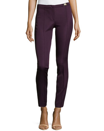 Skinny Ankle Trousers, Pink/Purple