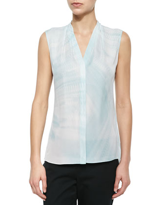 Hayden Silk Sleeveless Tunic