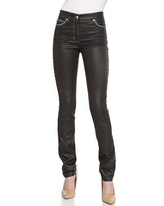 Five-Pocket Pants, Charcoal