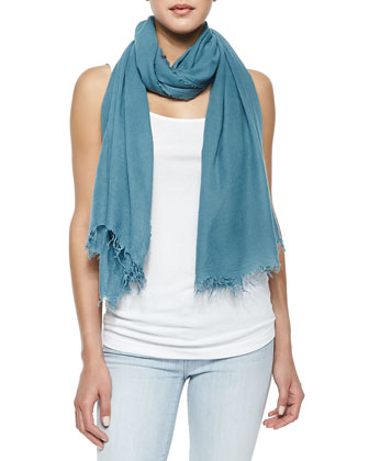 Ribbed Favorite Tank, Dylan Skinny Denim Ankle Jeans & Fringed Scarf in ...