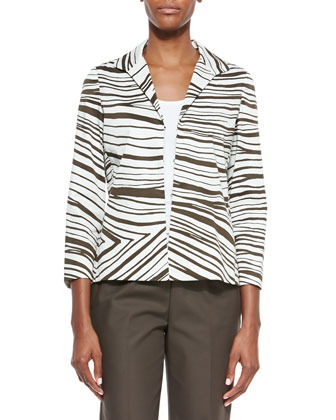 Bellene Zebra-Print Jacket