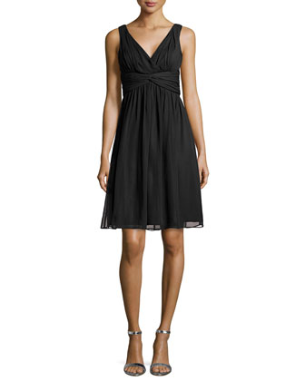 Jessie Sleeveless Cocktail Dress, Black