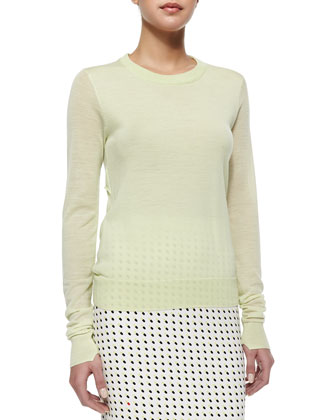 Lex Lightweight Knit Wool Sweater