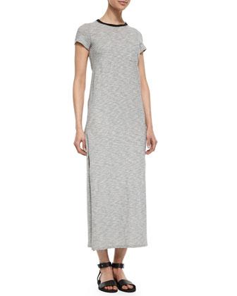 Slub-Jersey Maxi Dress