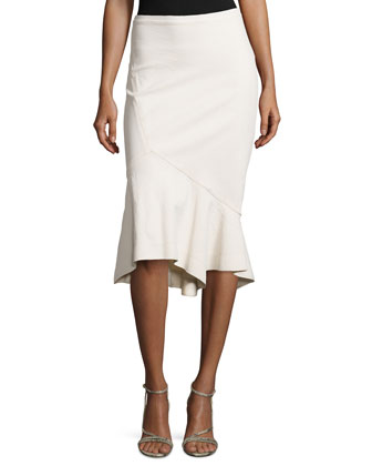 Trumpet Skirt in Signature Stretch Knit