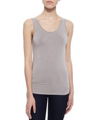 Soft Touch Tank Top, Stone