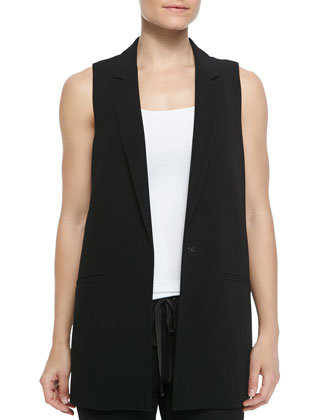 Edmund Long Open Vest