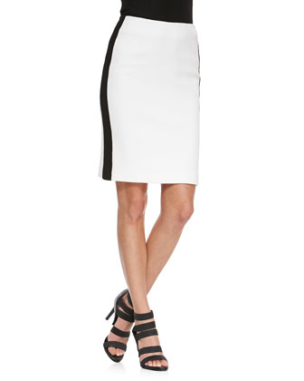 La Musica Skirt with Contrast Trim
