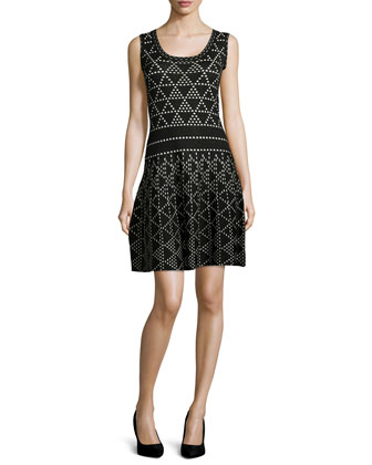 Diamond Dazzle Sleeveless Dress