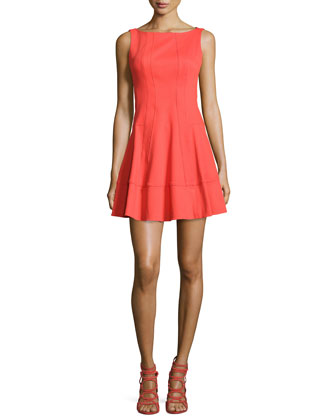 Fiesta Brava Fit-and-Flare Dress