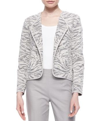 Birch Tree Jacket, Perfect Jersey Scoop-Neck Tank & Chloe Slim Ankle Pants ...