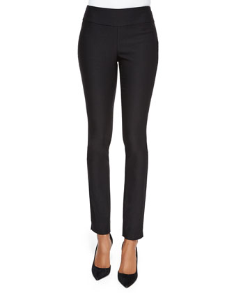 Chloe Slim Ankle Pants, Midnight