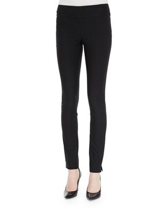 Slim Wonderstretch Pants, Black, Women's