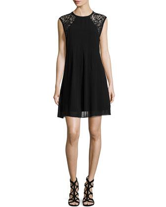 Morgan Lace & Georgette Dress