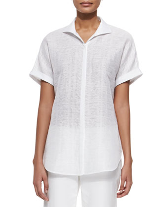 Marlis Short-Sleeve Top