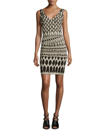Kenna Temple Printed Dress