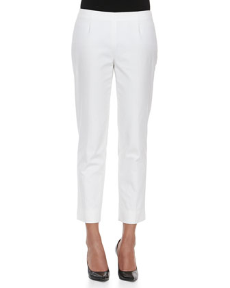Leigh 3/4-Sleeve Blouse & Bleecker Cropped Ankle Pants