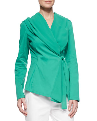 Bethany Georgette-Trim Jacket