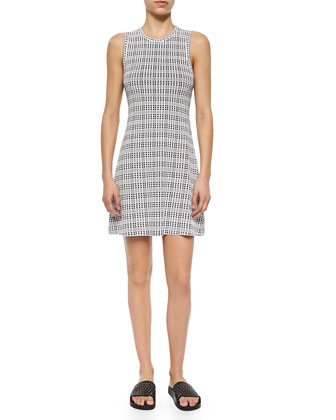 Branteen Plaid Crepe Dress