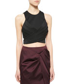 Trails Crop Top with Tie Back
