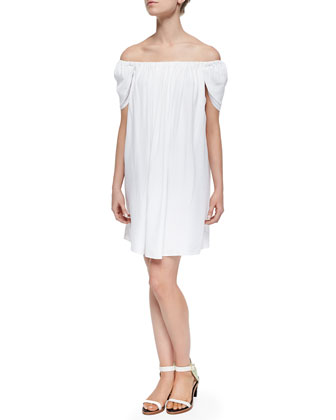 Dillon Off-the-Shoulder Mini Dress