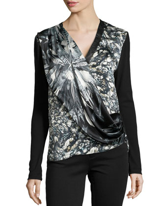Liam River Stone Printed Top