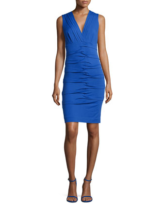 Dakota V-Neck Jersey Dress