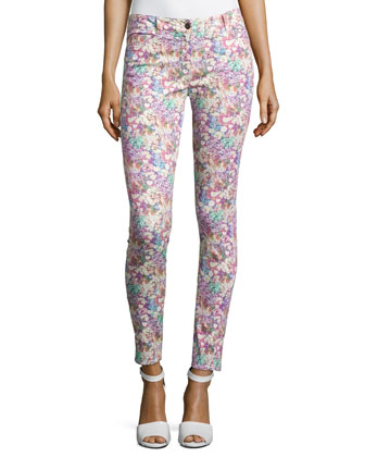 Field of Flowers Skinny Pants