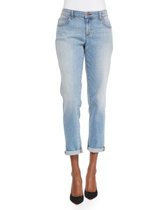 Stretch Boyfriend Jeans, Women's