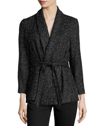 Caleb Jacket W/ Self-Tie