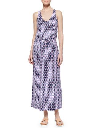 Emilia Tie-Waist Maxi Dress