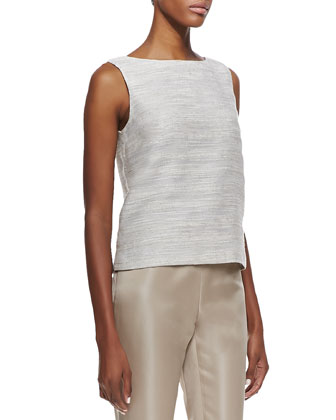 Maddie Woven Sleeveless Top