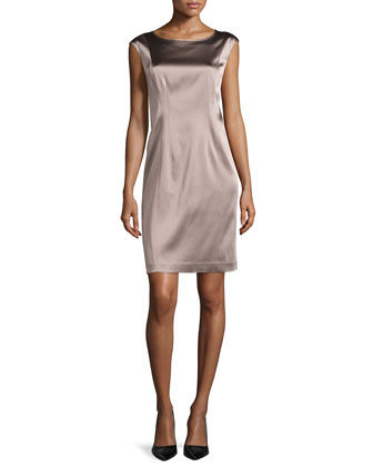 Norina Sleeveless Sheath Dress