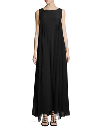 Yasmine Sleeveless Georgette Dress