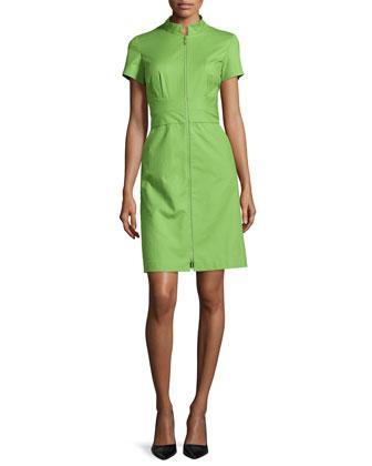 Allie Two-Zip Dress