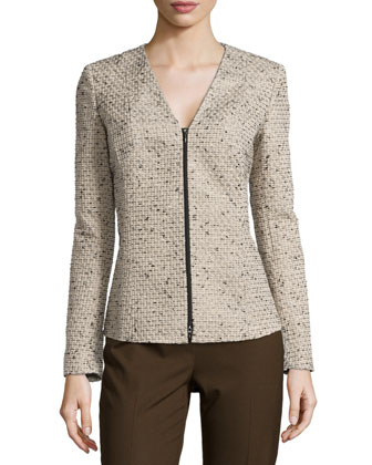 Lana Zip Front Jacket