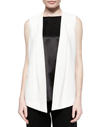 Yoko Sleeveless Open Vest