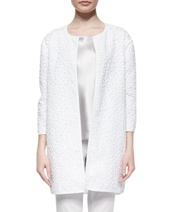 Vida Web Lace Topper Jacket
