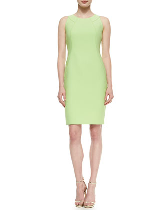 Alora Eloquent Cloth Sheath Dress