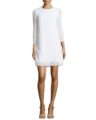 ashby guipure lace dress