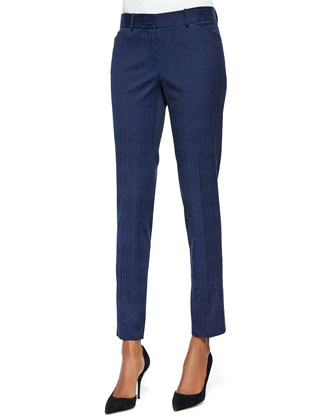Downtown Jacquard Slim Pants