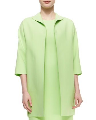 Mary Eloquent Cloth Topper Jacket, Mint